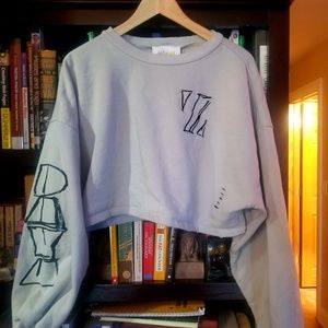 Zendaya Crop sweater